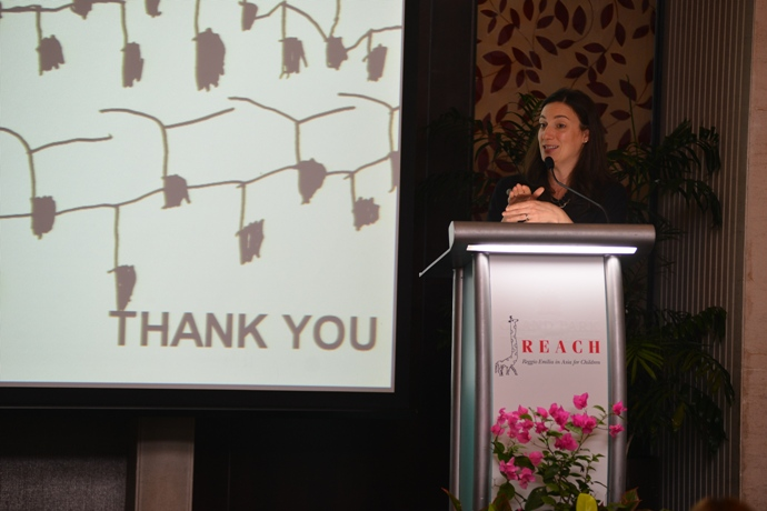 Dr Stefania Giamminuti - keynote speaker at the inaugural REACH conferencev2