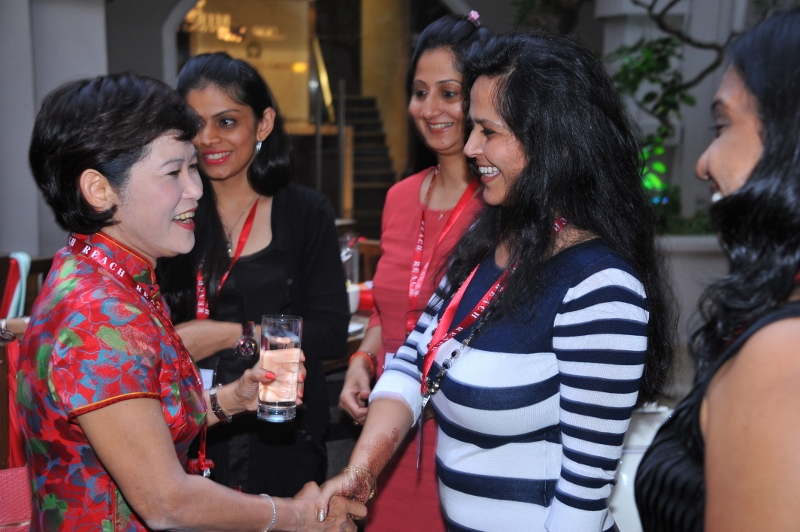 Evening welcome reception at the courtyard of Grand Park City Hall